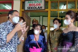 Mendikbud Nadiem kagumi TK ramah lingkungan di Ubud