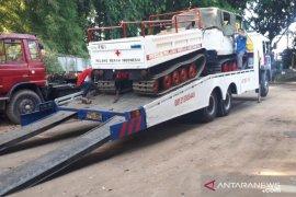PMI kerahkan dua kendaraan Hagglund ke lokasi terdampak erupsi Gunung Merapi