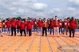 Pertamina EP Jambi berikan dukungan UMKM perahu motor wisata Danau Sipin