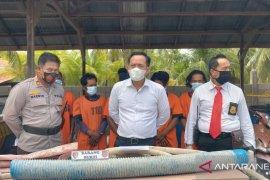 Polres Singkawang buru pemodal PETI di Wonosari Roban