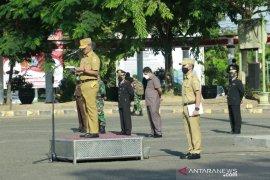 Sekda Banjarbaru inspektur upacara peringatan Hari Pahlawan