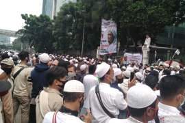 Polisi selidiki jenazah lansia meninggal di kerumunan massa FPI