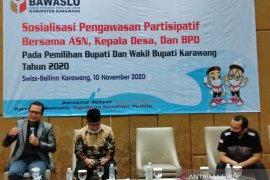 Bawaslu tekankan agar ASN Karawang tidak berpolitik praktis