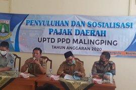 Jasa Raharja dan Bapenda Banten bersinergi sosialisasi warga Malimping, Lebak, tentang   pajak daerah
