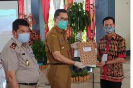 Warga Sintang terima 1.760 sertifikat tanah dari Presiden Jokowi  secara virtual