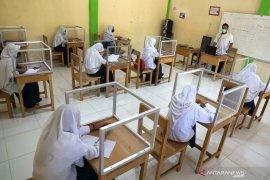 Banjarmasin melakukan simulasi pembelajaran tatap muka di empat SMP