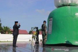 Hari Pahlawan 2020, Bupati pimpin ziarah ke TMP Ksatria Tumbang Ganti
