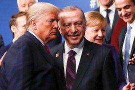 Erdogan selamati Biden, ucapkan terima kasih ke Trump