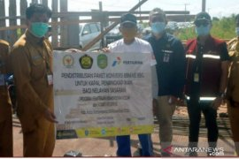 Nelayan Kukar terima bantuan 1.766 paket konverter BBM ke BBG