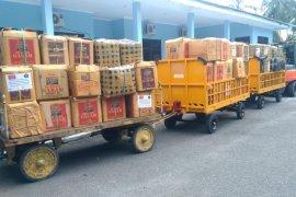 Puluhan ribu sagu bakar dikirim dari Ambon ke Jabodetabek untuk bantu warga terdampak COVID-19
