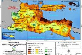 BMKG: Sebagian wilayah Jatim berpotensi hujan disertai angin kencang