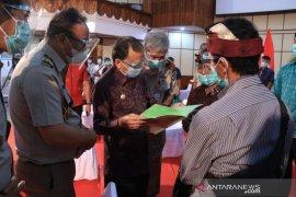Gubernur Bali hadiri penyerahan sertifikat PTSL secara virtual oleh Presiden