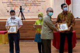 Pemprov Jabar raih penghargaan dari Badan Siber dan Sandi Negara