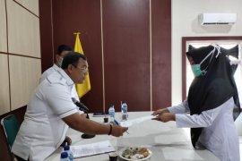39 Tenaga medis penanganan COVID-19 di RSUD Teuku Umar Calang terima SK Kontrak