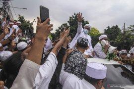 Rizieq Shihab pernah bersumpah tidak mau pulang ke Indonesia? Ini faktanya