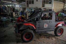 Mobil listrik karya Itenas