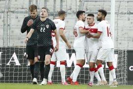 Hujan enam gol warnai laga Turki vs Kroasia