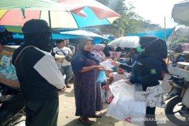 HKN di Madina diwarnai pembagian masker