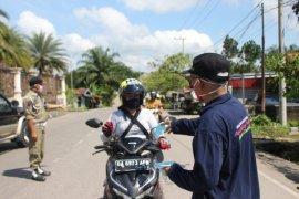 Dinas Kesehatan Paser bagikan 30.000 masker