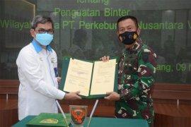 Kodam II-PTPN VII Jajaki Kerja sama Ketahanan Pangan