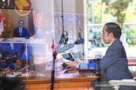Jokowi sebut dua pekerjaan ASEAN-Jepang untuk pulihkan ekonomi kawasan
