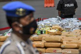 Terdakwa pembawa 208 kg sabu-sabu di Kalimantan Selatan di vonis mati