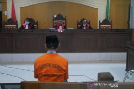 Korupsi dana desa, mantan Kades dituntut  5,5 tahun penjara