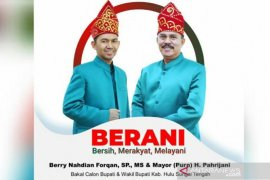 Berry : Ingin majukan Kabupaten HST maka majukan bidang pertanian daerah