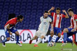 Kualifikasi Piala Dunia 2022 - Argentina ditahan imbang Paraguay 1-1