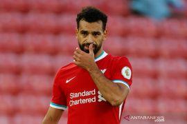 "Mohamed Salah dilaporkan hanya menderita gejala COVID-19 yang ""ringan,"""
