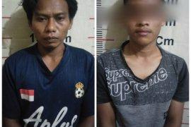 Polsek Padang Tualang tangkap dua tersangka pemilik sabu