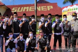Bupati Sumenep pimpin deklarasi relawan antinarkoba