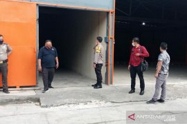 Kapolres Serang Kota Tinjau Gudang KPU Kabupaten Serang