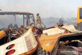 Bus Transjakarta yang terbakar pernah diminta Bupati Bogor jadi bus sekolah
