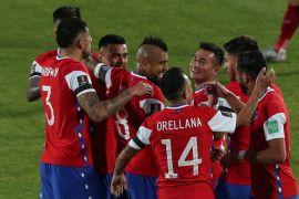 Arturo Vidal bawa Chile kalahkanan Peru 2-0