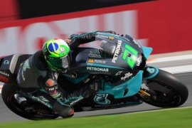 Franco Morbidelli raih 'pole position' GP Valencia