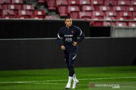 Timnas Prancis diperkirakan tanpa Mbappe hadapi Portugal
