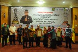 Kemitraan ADARO wujudkan ODF Kabupaten Tabalong dan raih STBM Award 2020