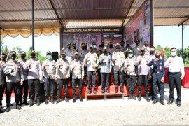Pembangunan Gudang Barang Bukti Polres Tabalong dimulai