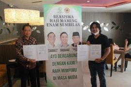 Yayasan Haji Maming Enam Sembilan hibahkan Rp 1 miliar untuk beasiswa