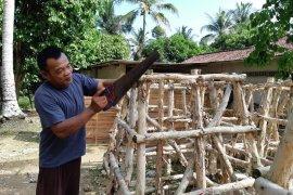 PT Timah tebar 101 rumah ikan di laut Bangka
