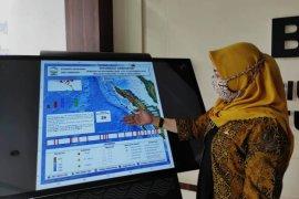 Pekan kedua November di  Sumut sekitarnya terjadi 26 kali gempa