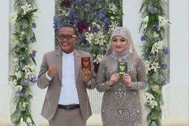 Doa Rizky Febian untuk pernikahan Sule & Nathalie