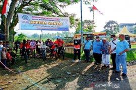 Mapan Madina bersama SMGP gelar sepeda santai