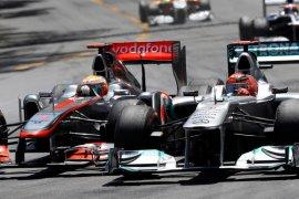 Formula 1: Hamilton samai rekor tujuh titel juara dunia Schumacher