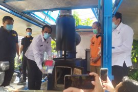 BNNP Bali musnahkan paket sabu kiriman Malaysia seberat 90 gram