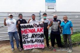 Protes pembangunan RS, warga  Acropolis Bogor gaet LBH Konsumen Jakarta