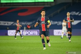 Marquinhos ingin habiskan karier di PSG, bantah tinggalkan Paris