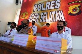Polisi tahan seorang PNS di Aceh Selatan diduga korupsi dana desa