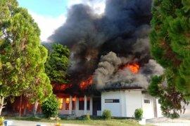 Kantor Koperasi dan UKM Raja Ampat terbakar